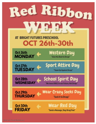 flyer for red ribbon week