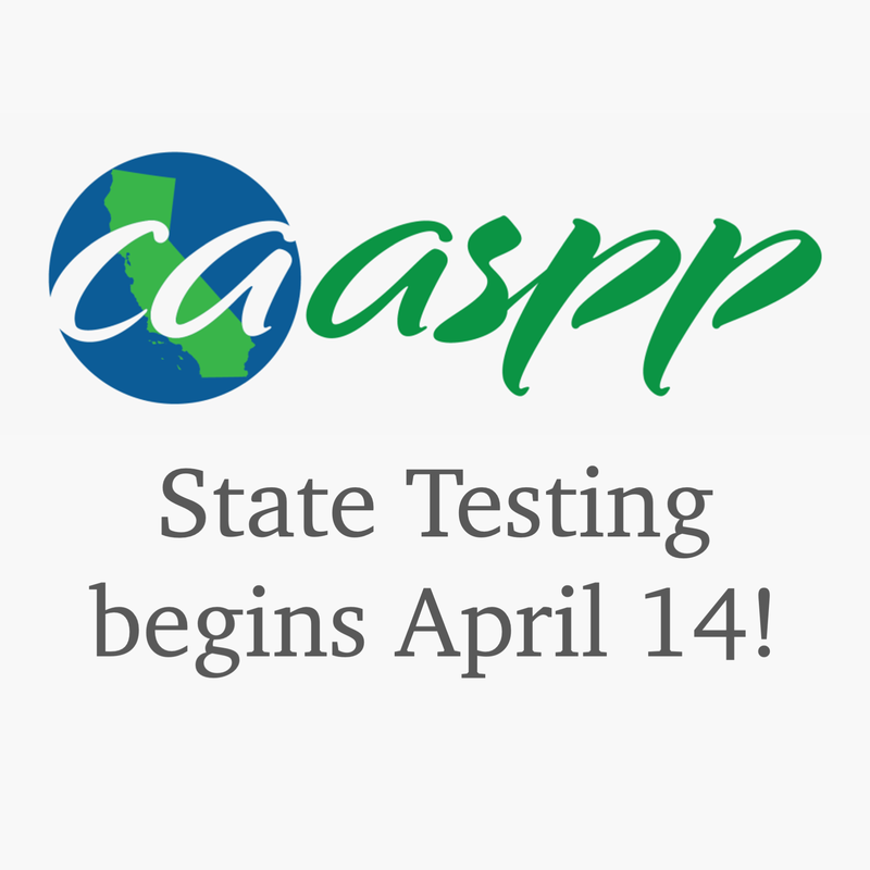 CAASPP begins April 14
