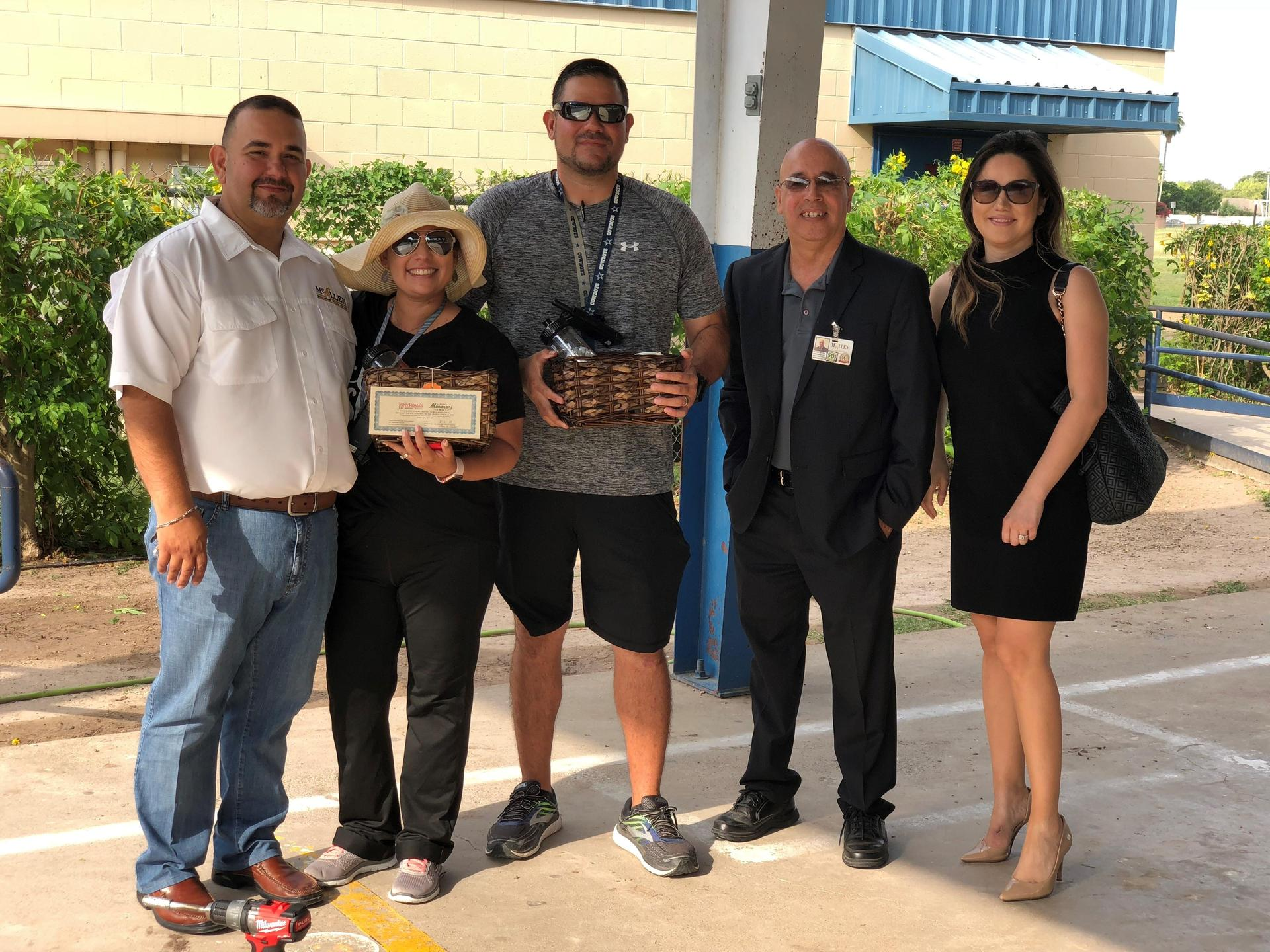 May PE Teachers of The Month - Brenda Ochoa and Jon Saldana