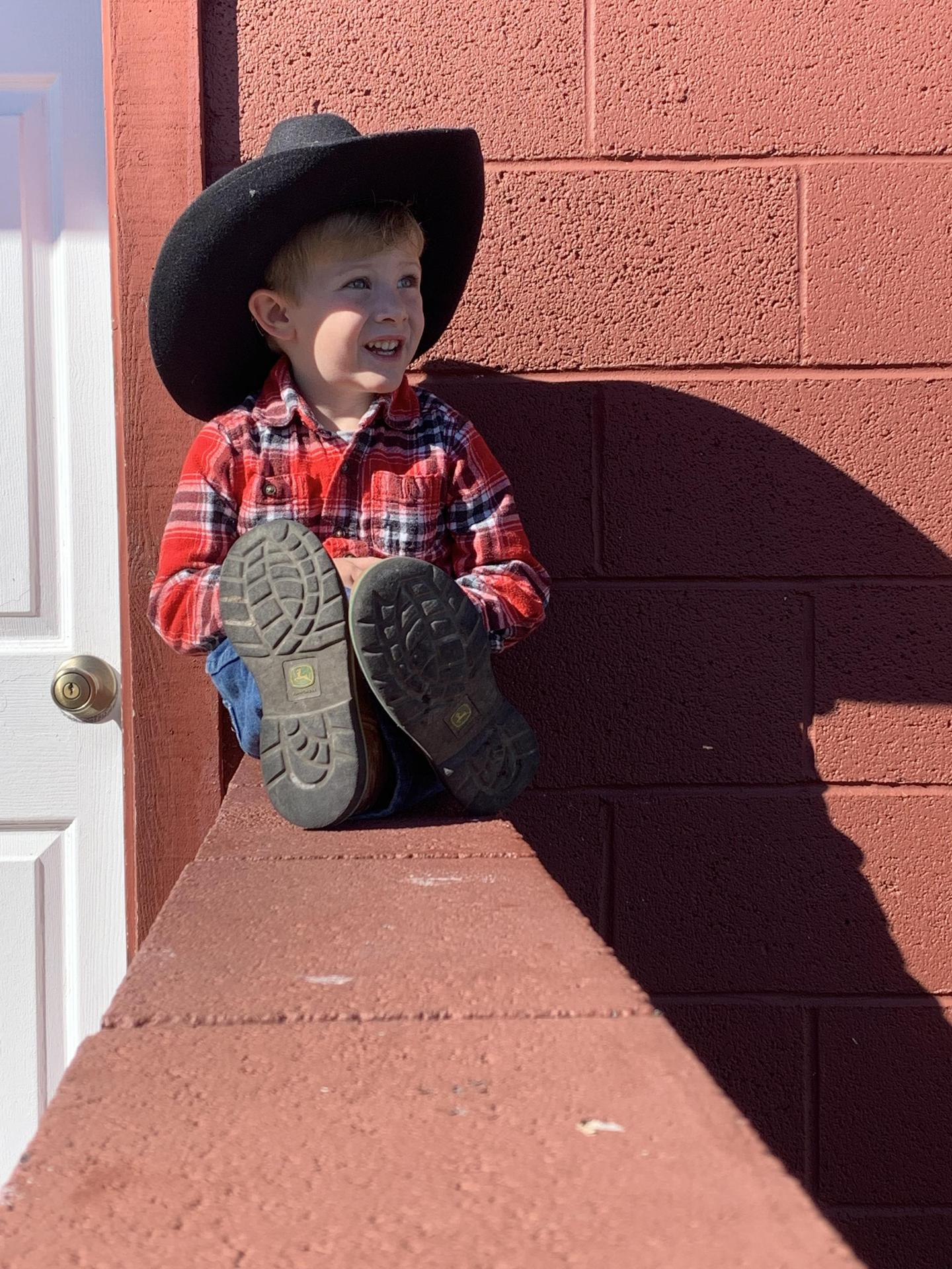My son Wyatt