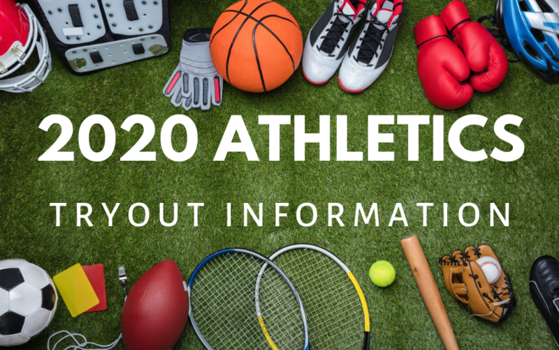 2020 Athletics tryout information image