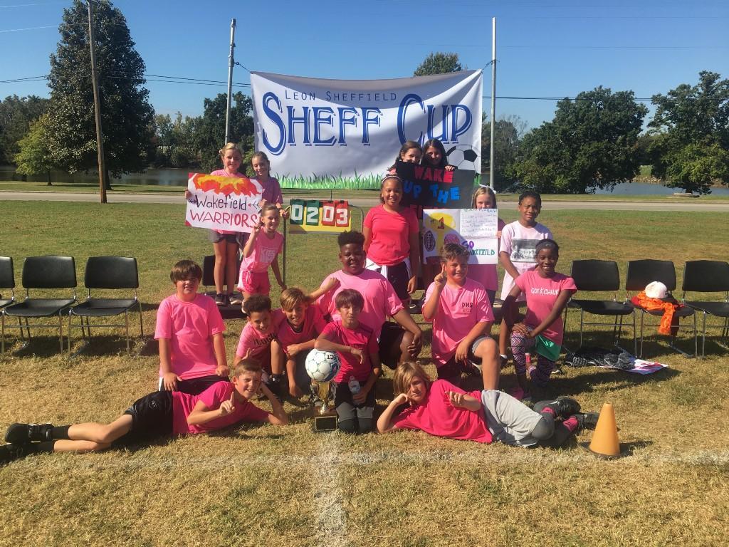Mrs. Wakefield 5th Grade Sheff Cup Winners