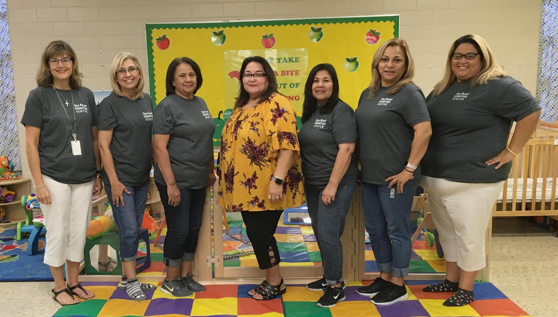 teen parent connection center staff members 2018 2019