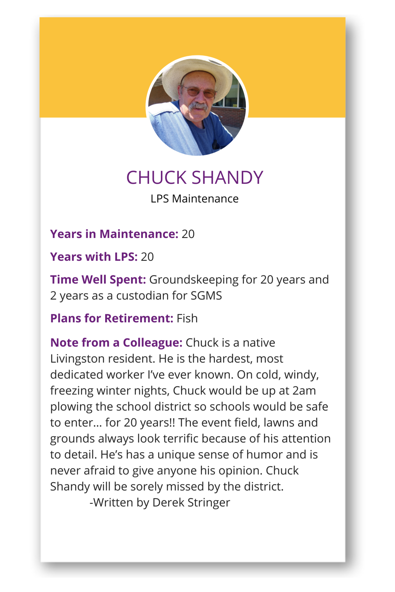 Chuck Shandy Tile