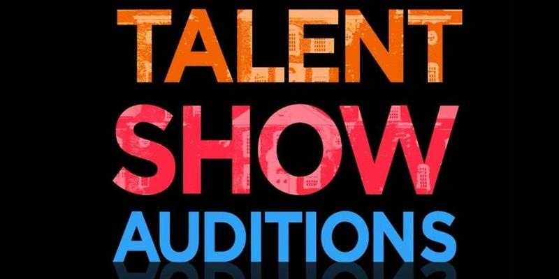 Graphic says Talent Show Auditions