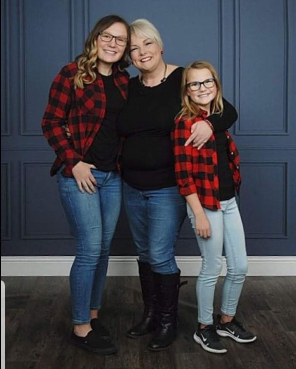 My daughters and I