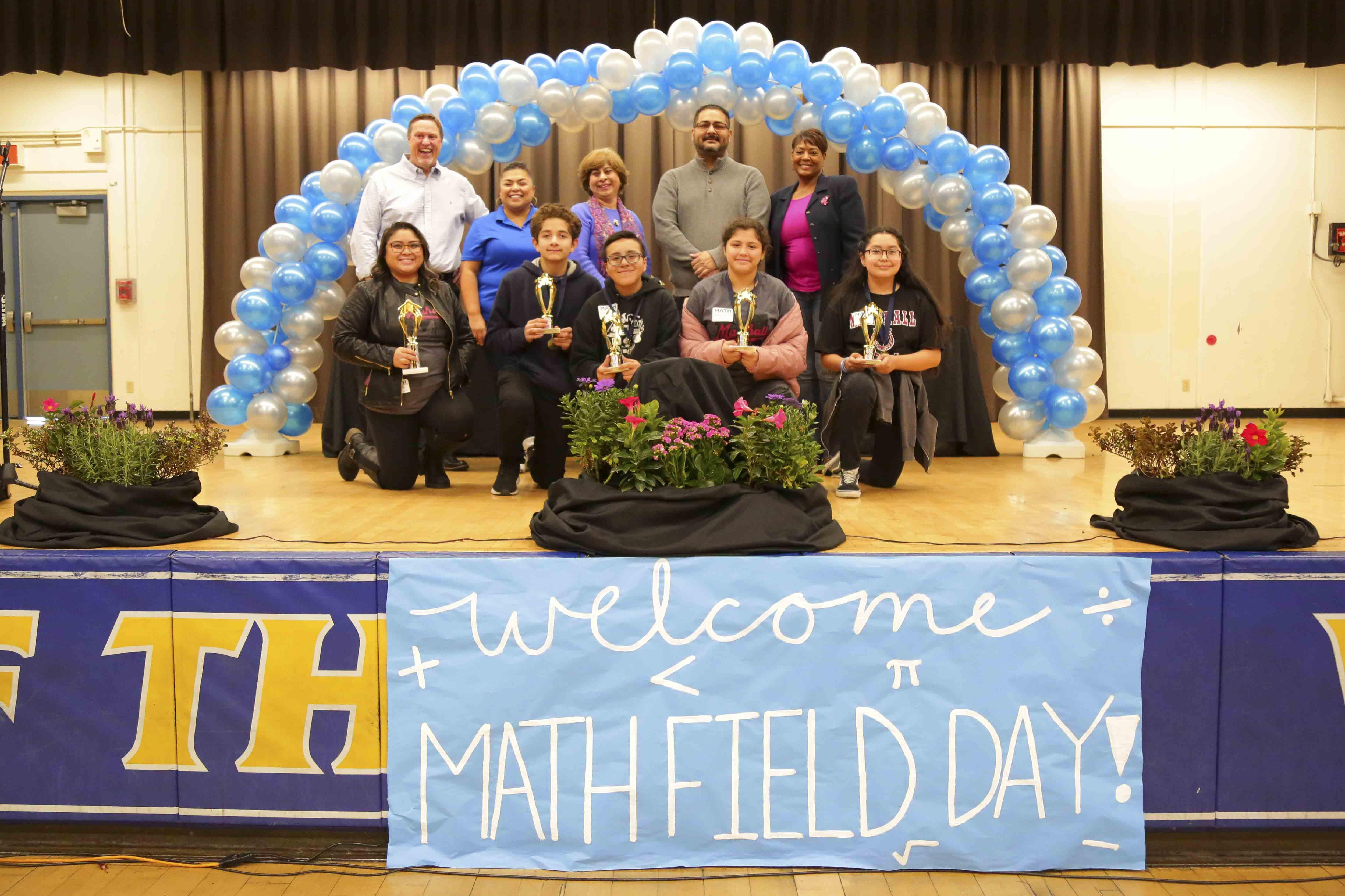 Congratulations to all of our Mustangs that won 2nd Place at the Math Field Day held at Garey High School. We are proud of your academic success!