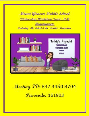 Wednesday Webinar