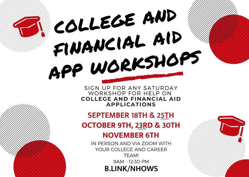 College/Financial Aid App Workshops