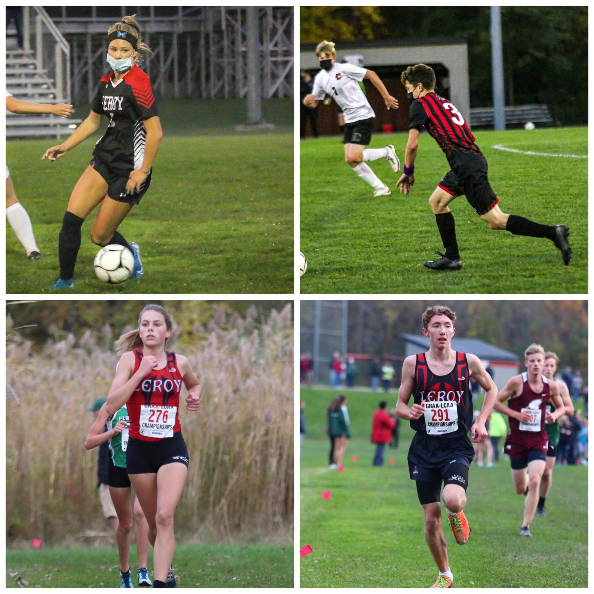 Athletes of the Week - October 5-11