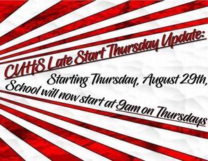 Late Start poster