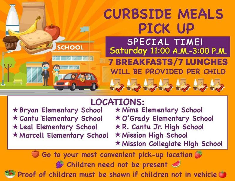 Curbside Meal Distribution Update Featured Photo