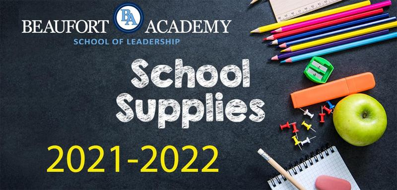 2021 Supply Lists & Textbooks Featured Photo