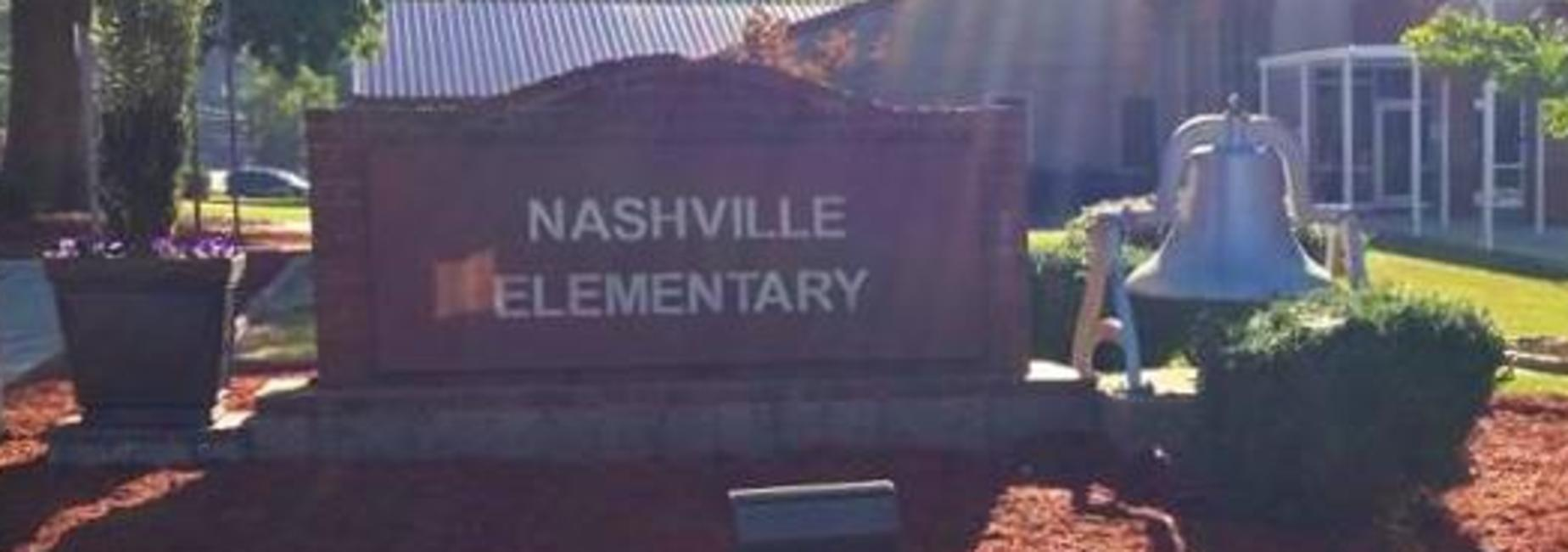 School Sign and Bell