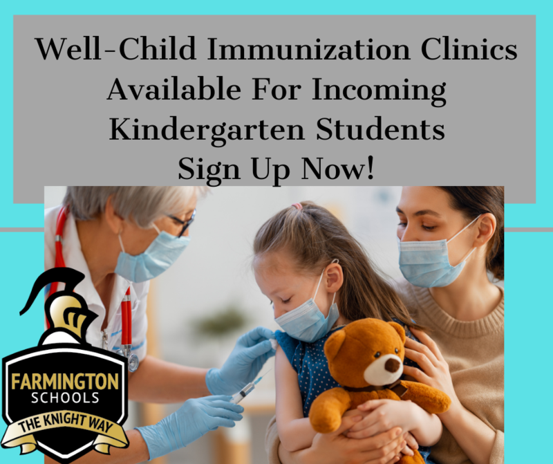 Well child clinic coming to FSD