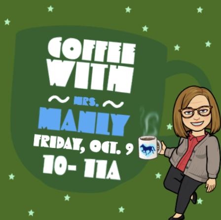 Coffee with the Principal Oct. 9 - Café con la directora el 9 de octubre Thumbnail Image