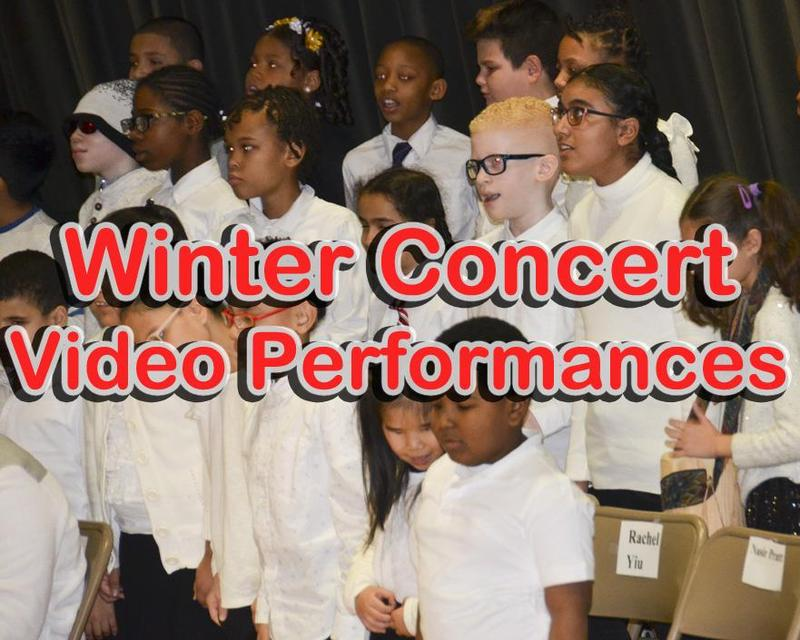 Video Performances of the Winter Concert