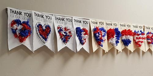 Banner for Veterans Day