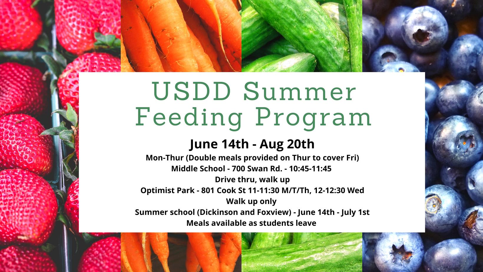 Summer Feeding Program - 2021
