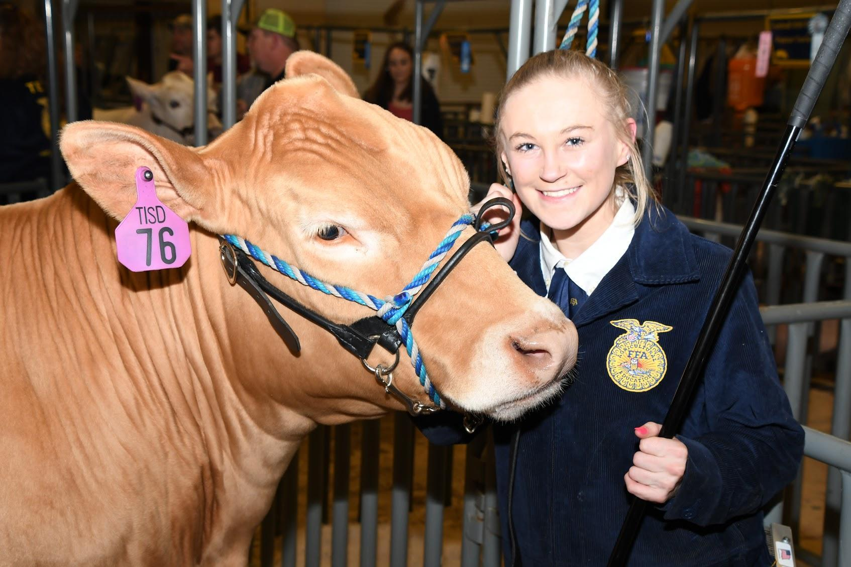Steer and student