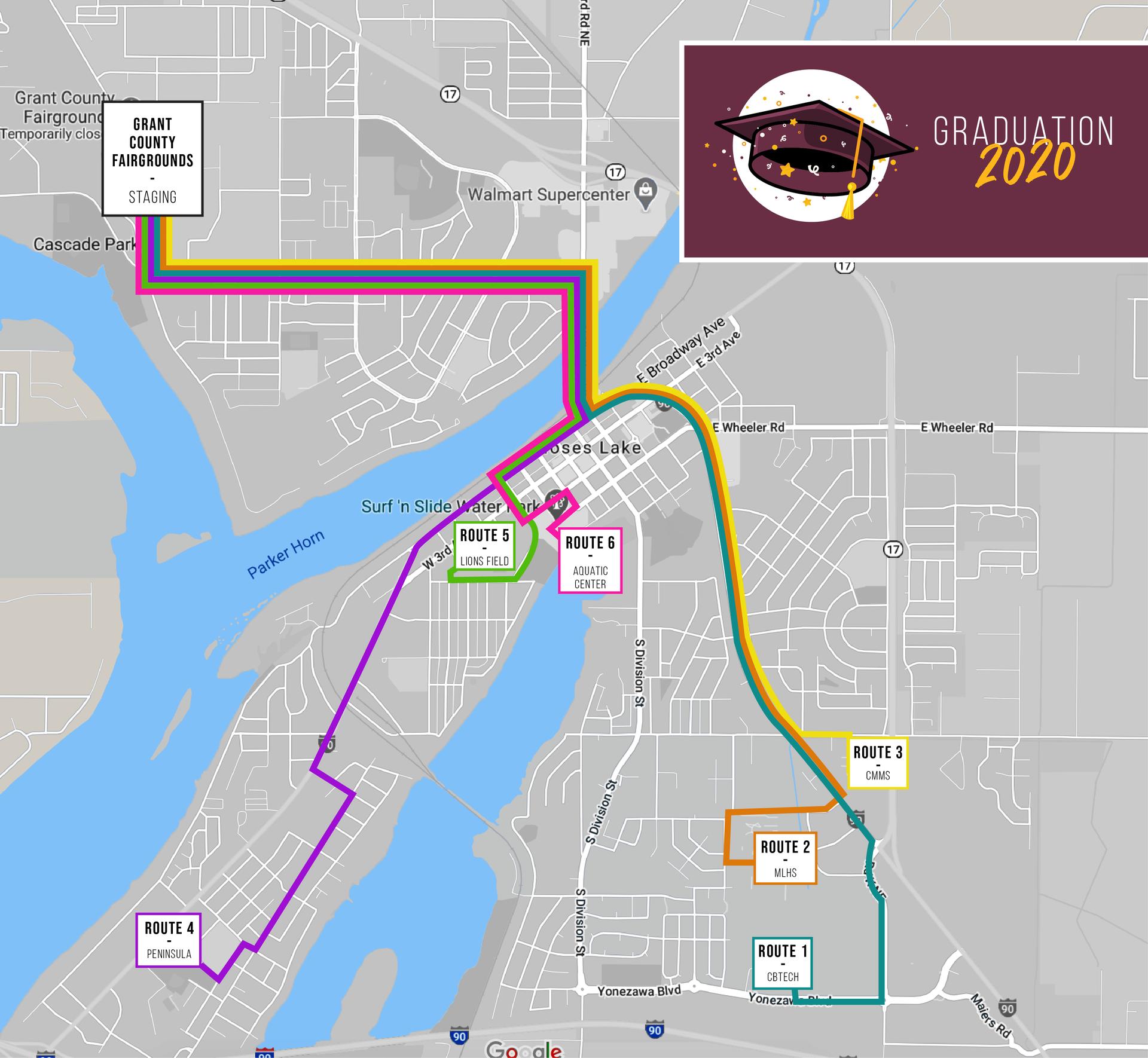 Parade Routes