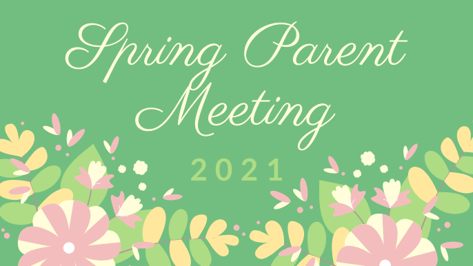 Spring Parent Meeting Featured Photo