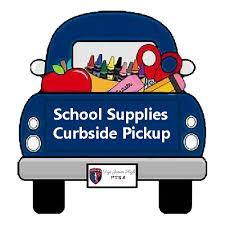 School supply curbside pick up