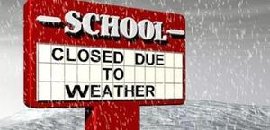 School is Closed tomorrow.