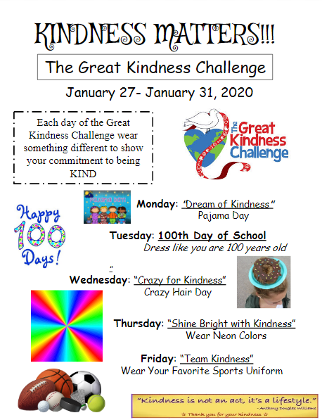 The Great Kindness Challange
