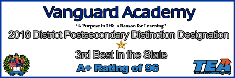 Vanguard Academy ranks top in the Region and top 1% in the STATE! Featured Photo