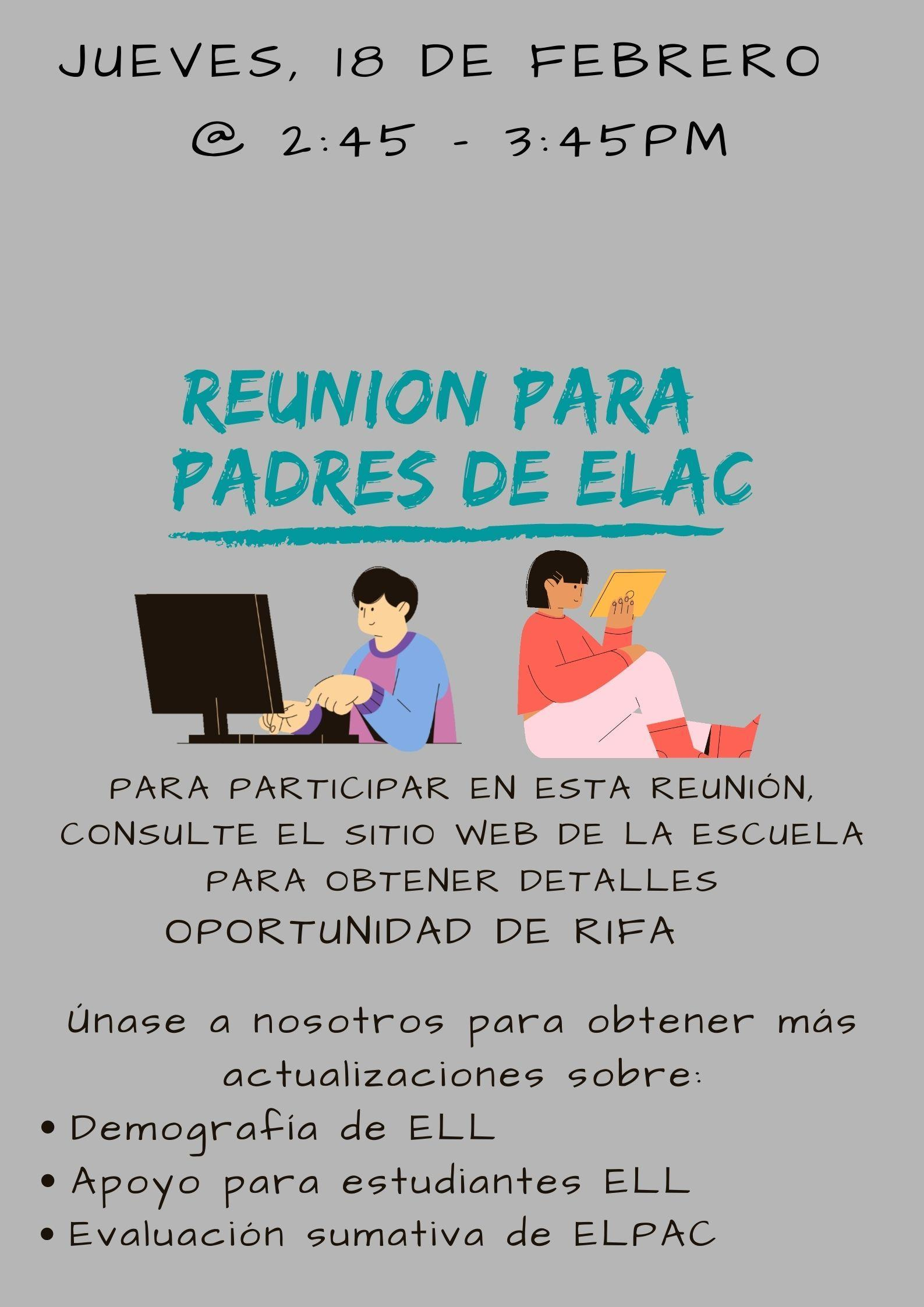 ELAC Parent Meet 2.18 SPA
