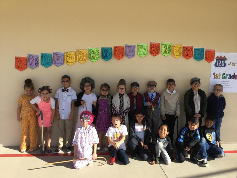 1st Grade Celebrates their 120th Day of School on March 3rd! Thumbnail Image