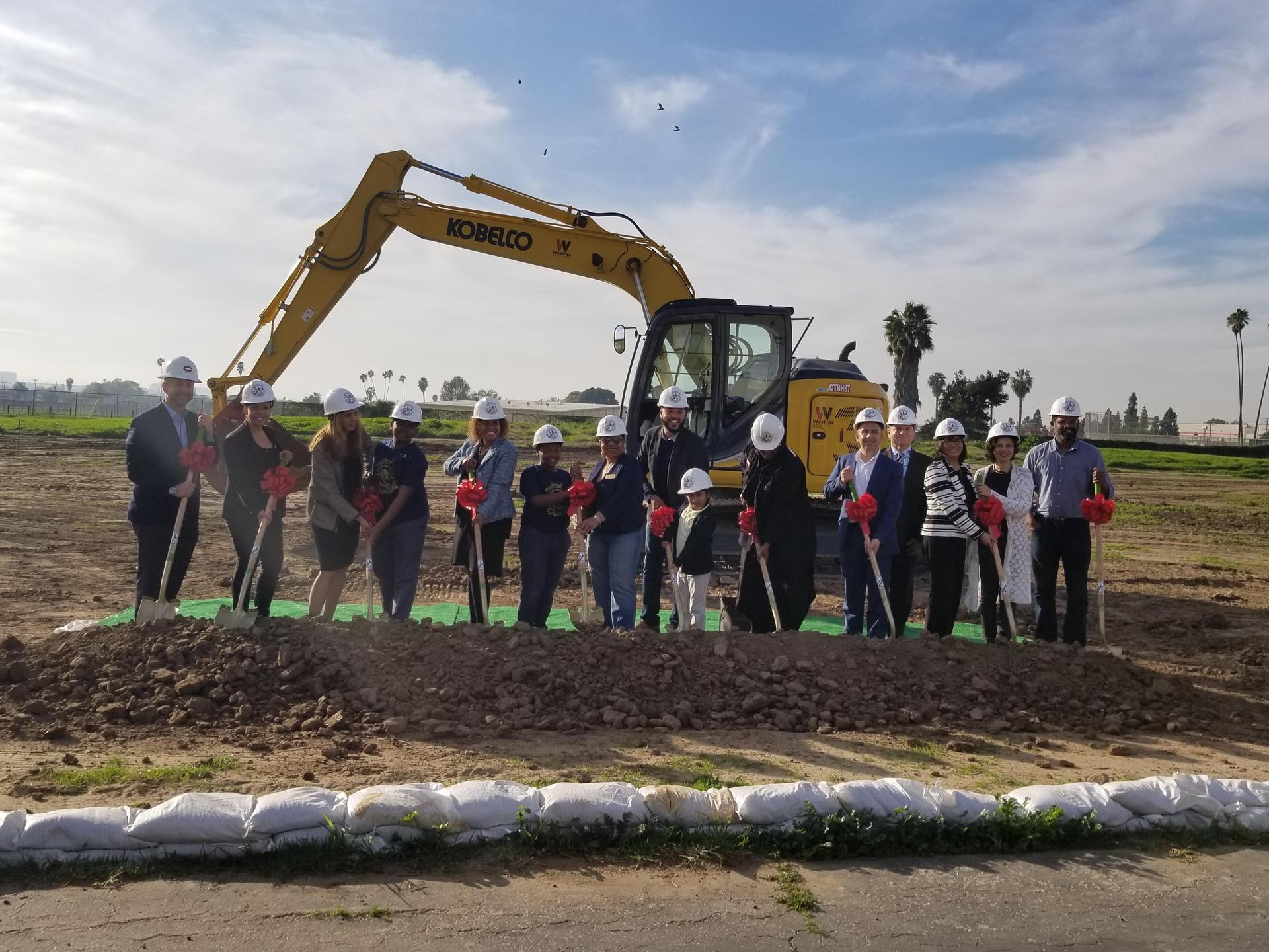 Groundbreaking Woodworth-Monroe TK-8 Academy, January 28, 2019