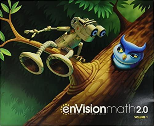 enVision Math textbook cover