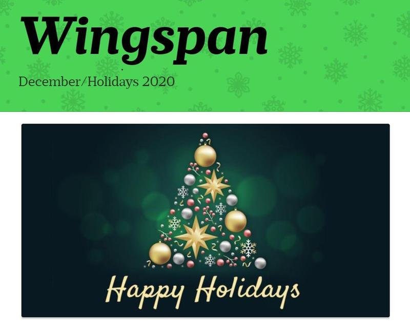 Wingspan December 2020 Featured Photo
