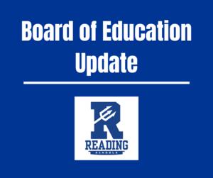 Board of Education Update