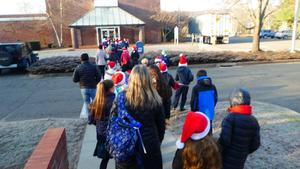 Town Hall Caroling