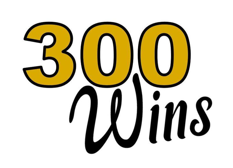 300 wins