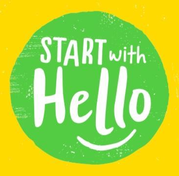 Start With Hello Week Featured Photo