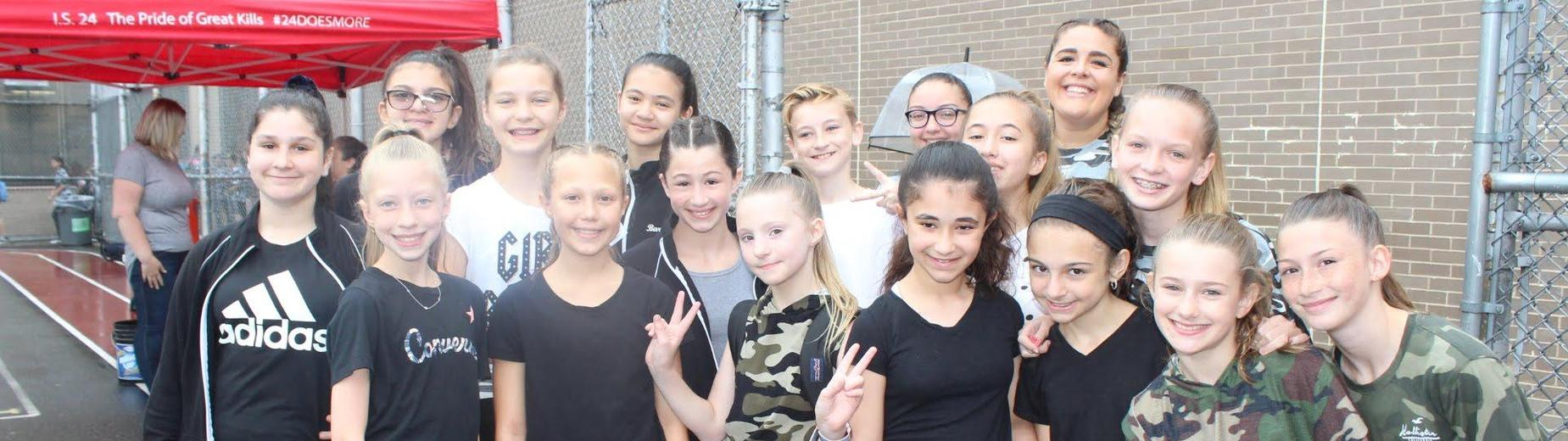 2018- 2019 Dance Team at performance