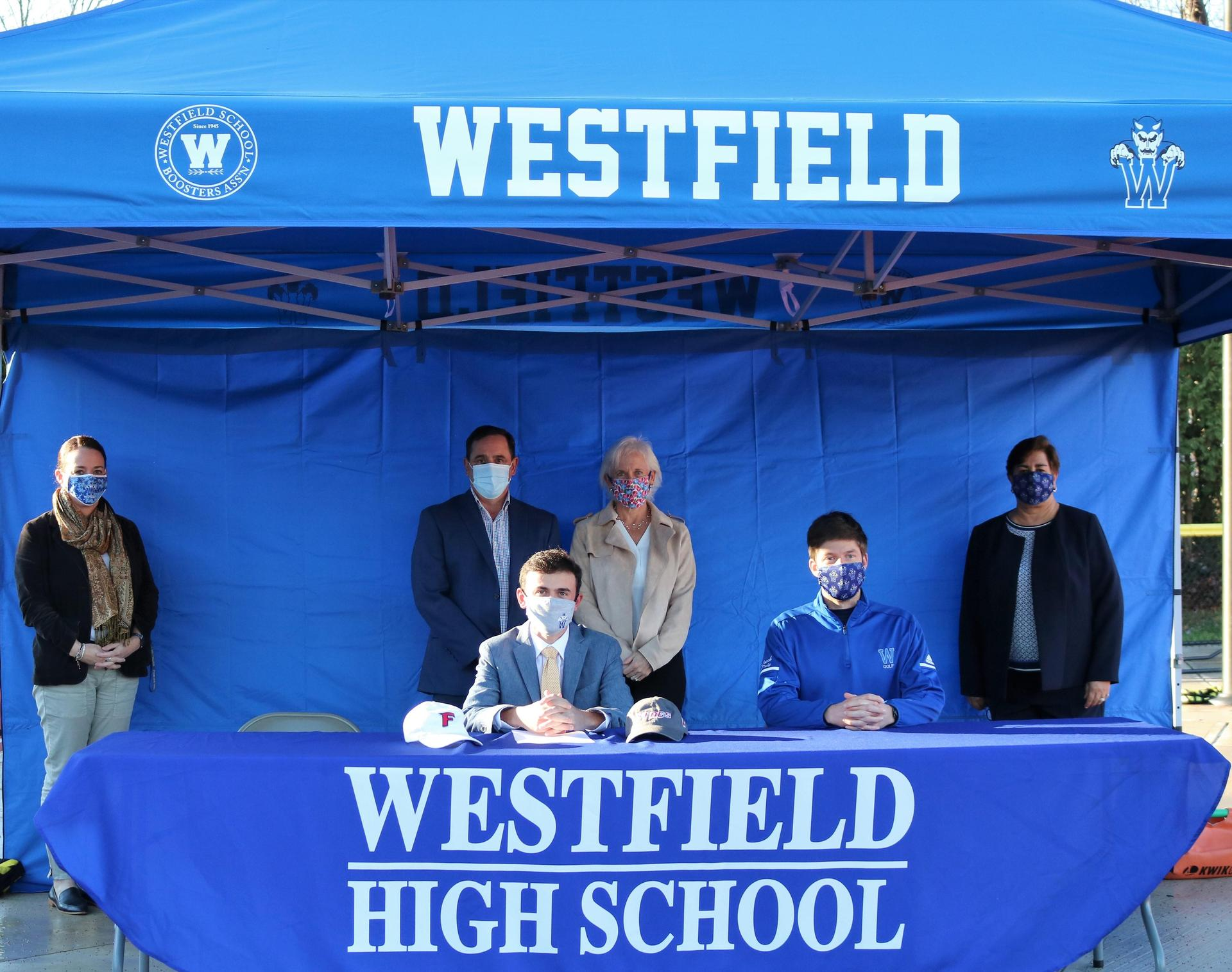 Senior Colin Summers National Letter of Intent Signing Day Fall 2020 Golf
