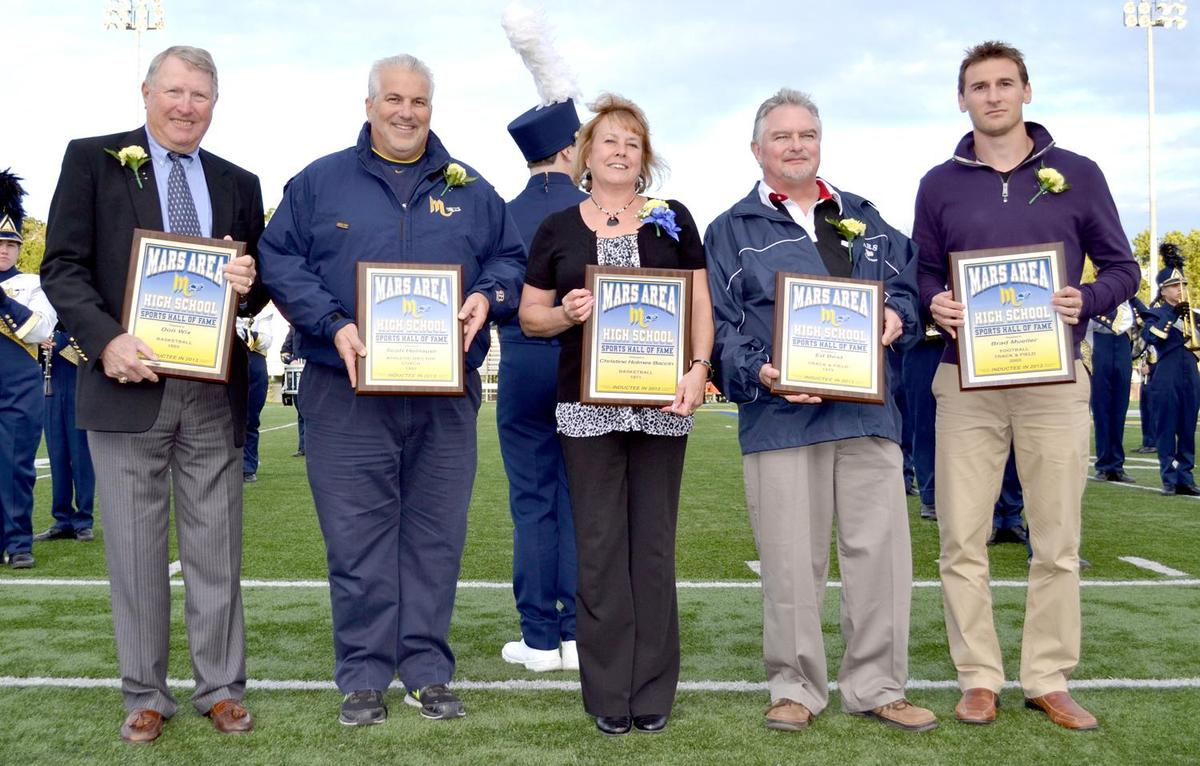 2013 Mars Area High School Sports Hall of Fame Inductees