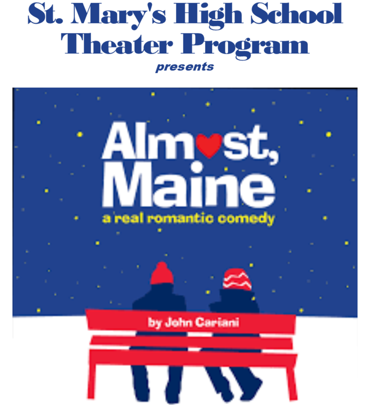 St. Mary's Theater presents, Almost, Maine