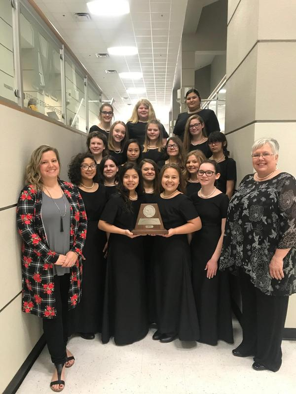 GJHS GIRLS CHOIR UIL SWEEPSTAKES WINNERS! Featured Photo