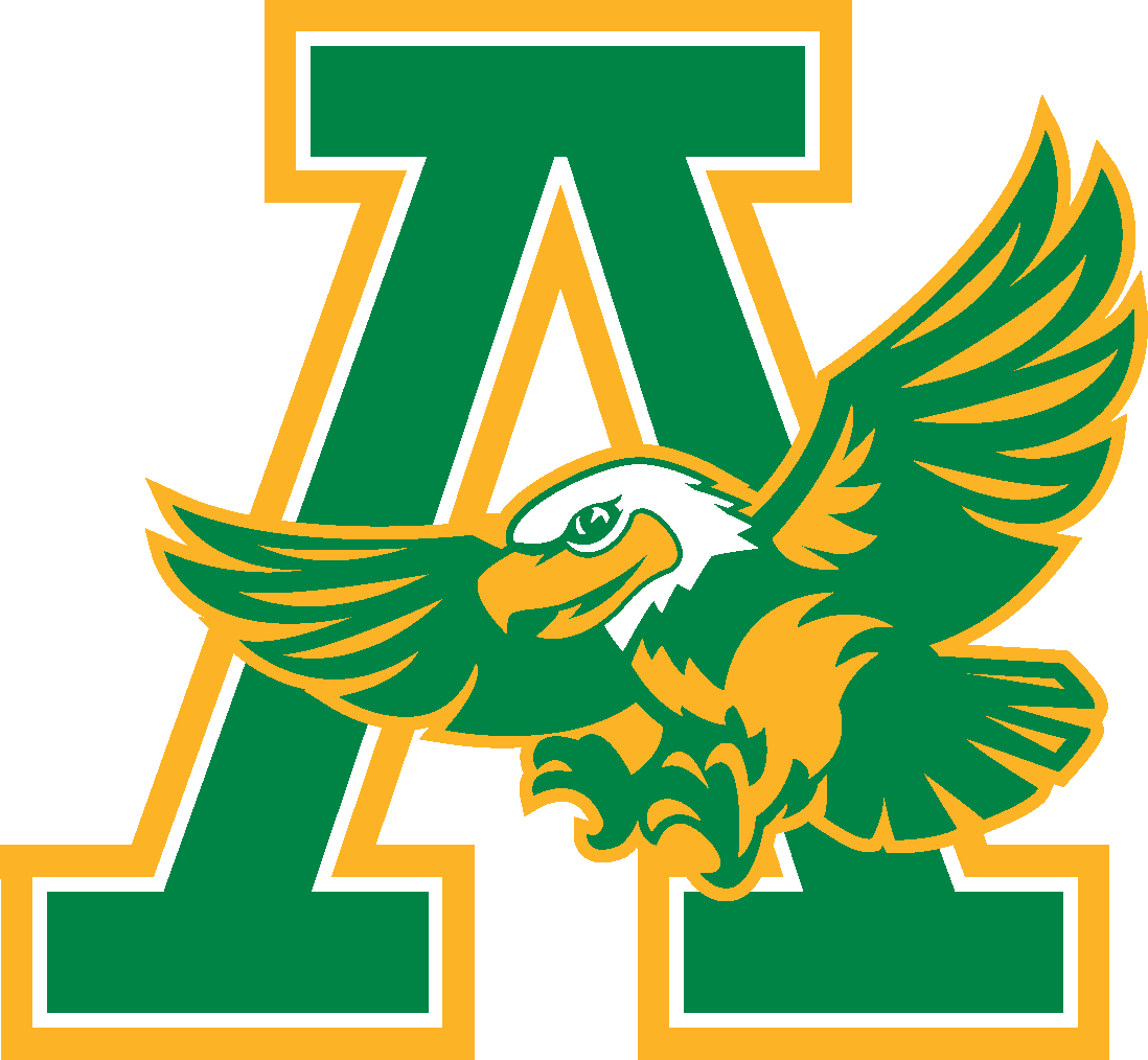 Armstrong Eagle logo with large A