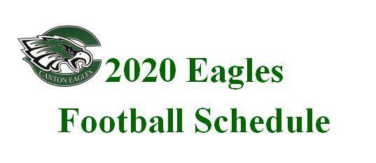 2020 HS Football Schedule
