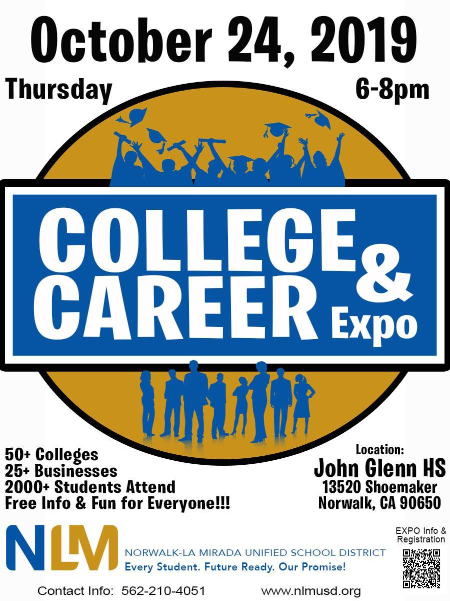 2019 College & Career Expo Flyer