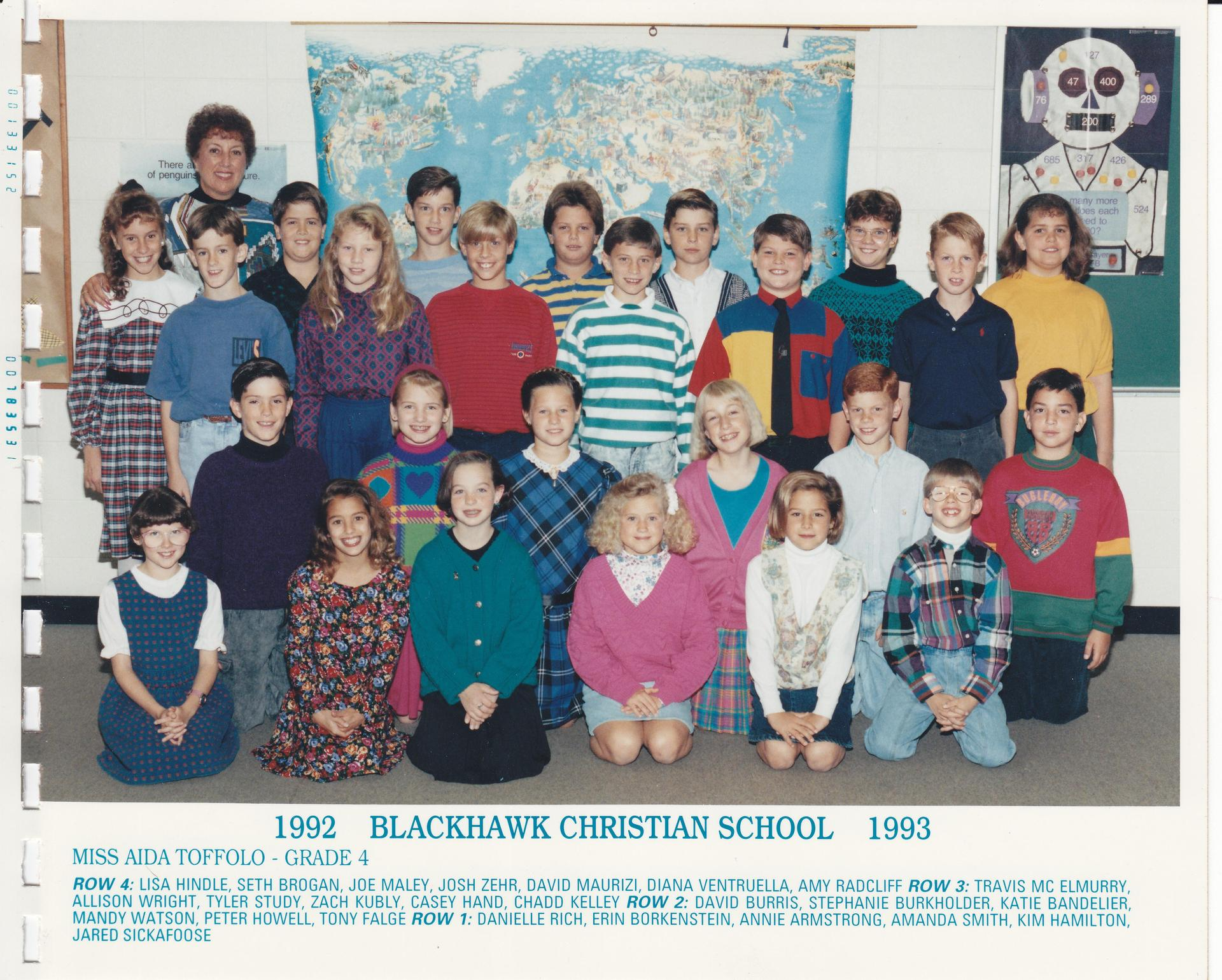 1992 Miss Walts' Class