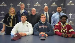 PJ Football Players Early Signing Day 2018-19