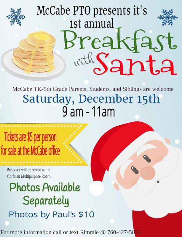 Parent Email re: Breakfast With Santa Thumbnail Image